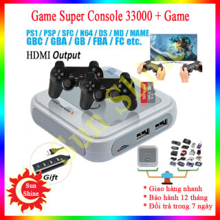 Máy chơi game cao cấp Super Console, máy chơi gamer điện tử, máy chơi gamer 4 nút, máy chơi gamme, máy chơi geme, tay cầm chơi game thumbnail