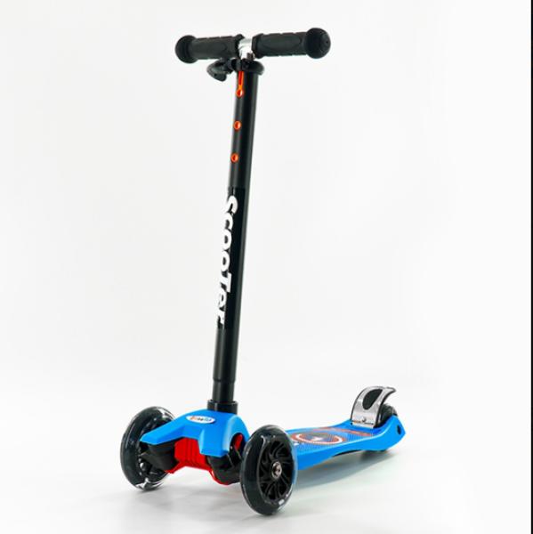 Giá bán Xe Trượt Scooter 0072R màu Xanh Dương  Với Thiết Kế 3 Bánh Tạo Sự Cân Bằng An Toàn Cho Bé