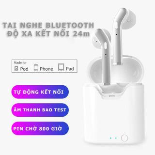 Tai nghe bluetooth không dây TWS V5.0 - Venado Âm thanh chất lượng cao, dùng cho cả ios và android, tai nghe chơi thể thao hàng test cẩn thận thumbnail