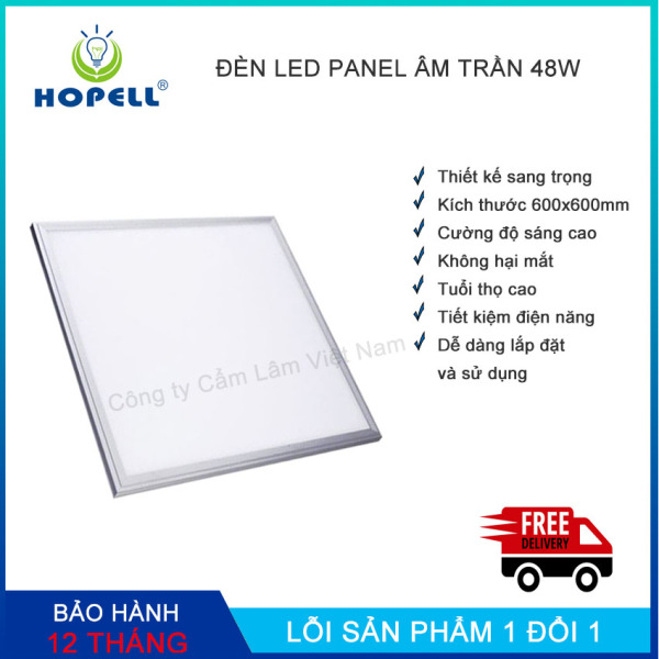 Bộ đèn led Panel 600 x 600mm- 48w