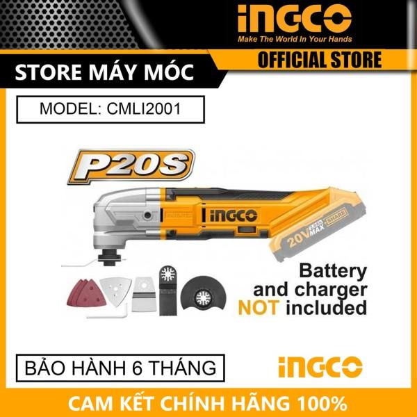 Máy cắt rung đa năng 20V Ingco CMLI2001 - HÀNG CHÍNH HÃNG
