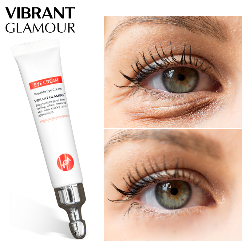 Kem mắt Collagen VIBRANT GLAMOR loại bỏ quầng thâm, chống bọng mắt nếp nhăn lão hóa 20g - INTL giá rẻ