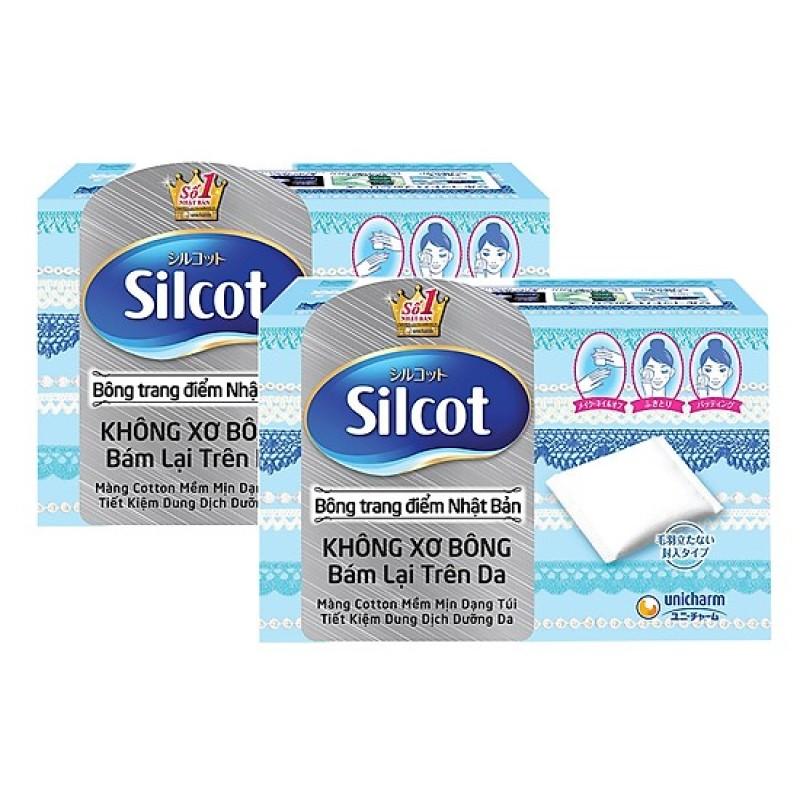 Bông Tẩy Trang Silcot 82 miếng/hộp nhập khẩu