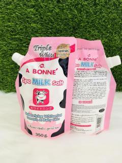 Muối Tắm con bò Tẩy Tế Bào Chết A Bonne Spa Milk Salt 350gr - Thái Lan thumbnail