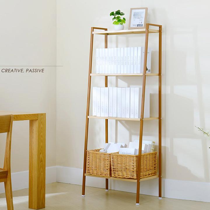 Kệ để đồ đa năng trang trí, để sách, nhà bếp khung thép cao cấp RE0265