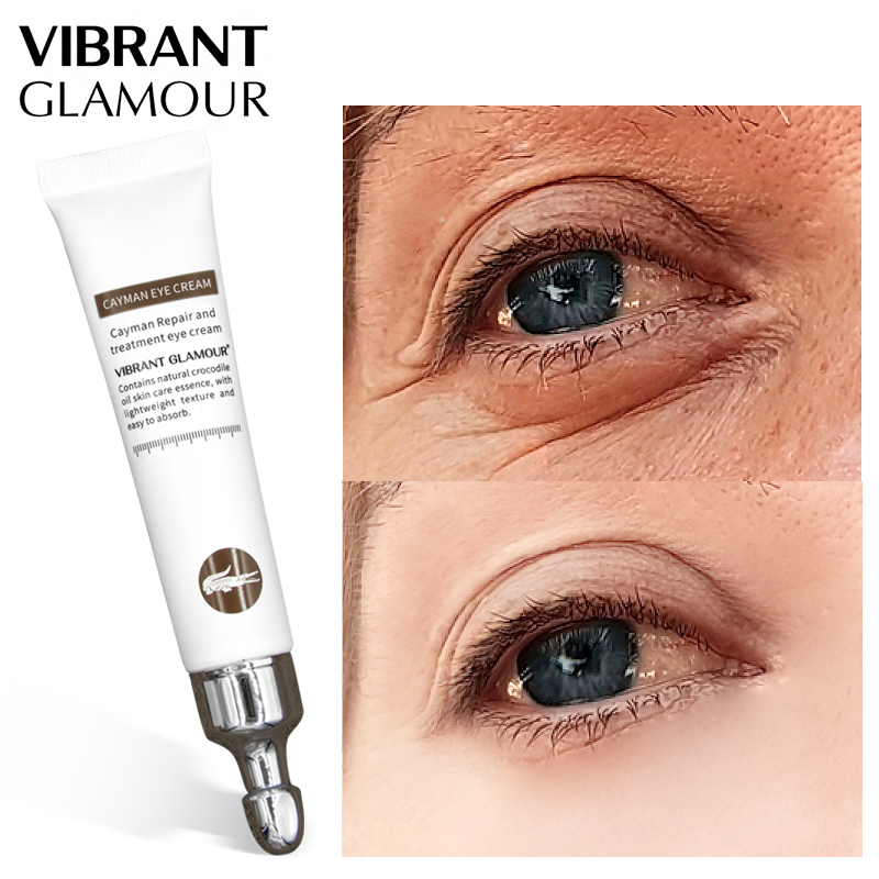 VIBRANT GLAMOUR Anti-Aging Wrinkle Eye Cream Remover Dark Circles Against Puffiness Bags Moisturizing Serum Skin Care 20g giá rẻ