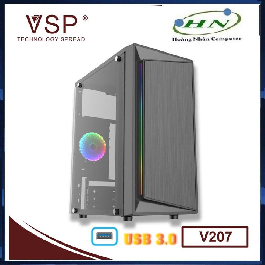 Giá Case VSP V207 LED RGB - USB 3.0 - v207