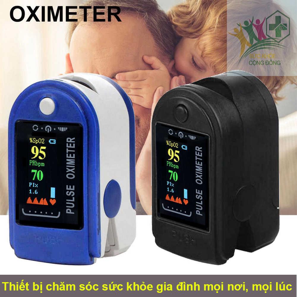 Máy đo nhịp tim, máy đo độ bão hòa oxy trong máu SPO2