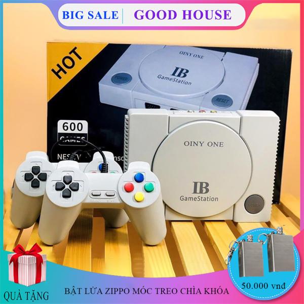 Máy chơi game 600 trò chơi,  Máy chơi game cổ điển, máy chơi game kết nối với TV 4k  Game kết nối tivi đồ họa nét sống động, thú vị trong một màn hình lớn