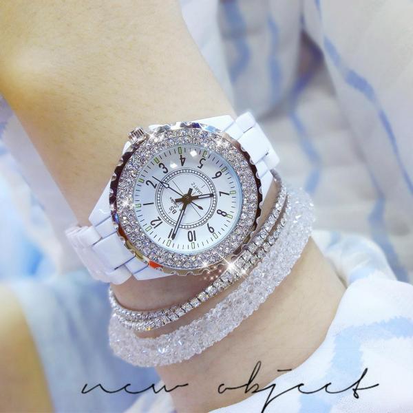 Đồng hồ nữ BS Bee Sister FA0280T đính đá thời trang