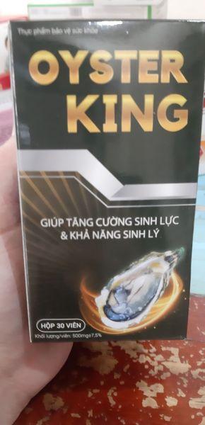 Tinh chất hàu Oyster King Ngăn chặn các tác nhân gây suy giảm sinh lý
