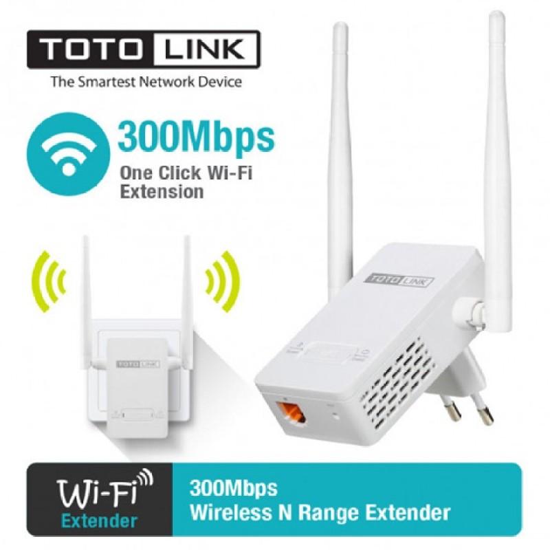 Bảng giá Bộ Kích Sóng Wifi Repeater 300Mbps Totolink EX200,Cục hút wifi,tiếp nối wifi-VDH STORE Phong Vũ