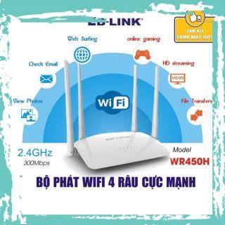 Bộ phát sóng wifi 4 râu cực mạnh LB-LINK BL-WR450H - Hàng chính hãng bảo hành 24 tháng thumbnail