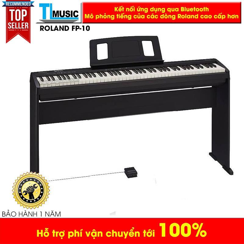 Piano Điện Tử Roland FP10 Mới (Kèm Khăn Phủ) - Roland FP-10 New Model Kết Nối Blueooth