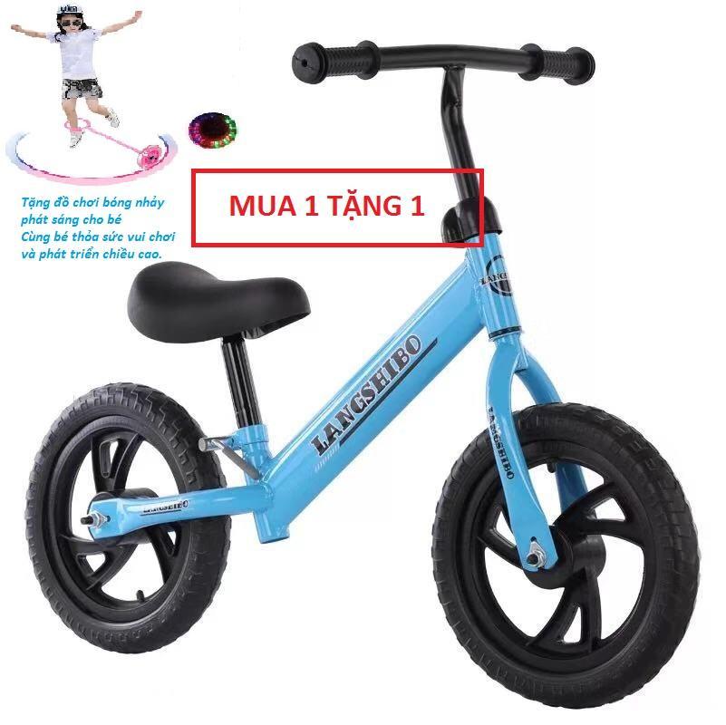 Mua Xe đạp thăng bằng cho bé - xe thăng bằng 6 + tặng đồ chơi nhảy bóng phát sáng