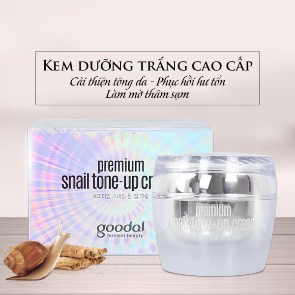 Kem Dưỡng Ốc Sên Cao Cấp Goodal Premium Snail Tone Up Cream 50gr - Chuẩn Hàn Quốc