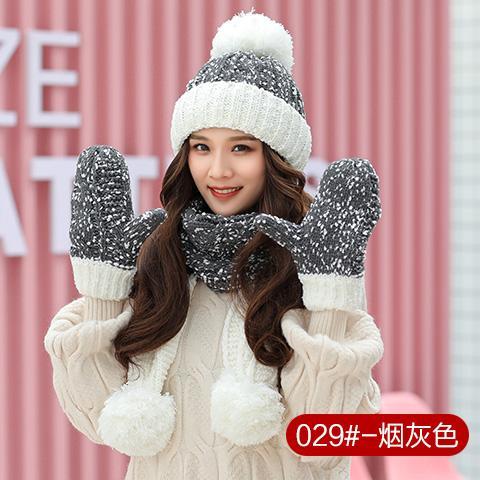 Topi Selendang sarung tangan Topi 1 paket set isi 3 pcs Topi Beanie musim  dingin f24350c70b