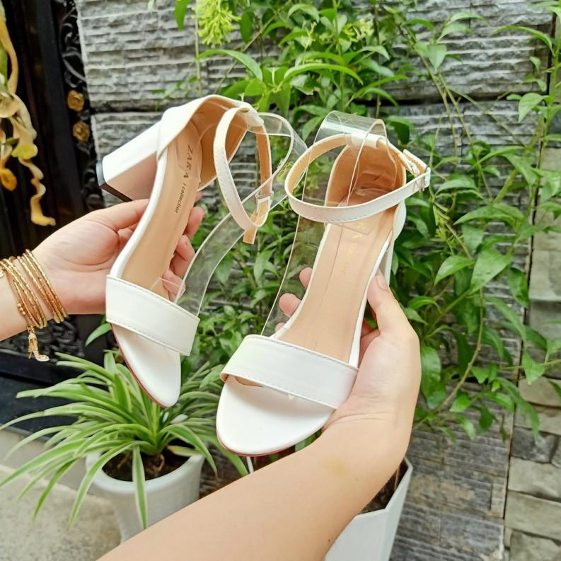 Giày cao gót nữ 7 phân quai ngang hot trend 2020   ( hàng có sẵn ) - CaoGotNgang giá rẻ