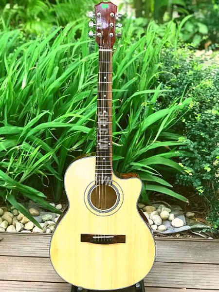 Đàn Guitar Acoustic SAG03CN + Bộ Phụ Kiện - SOLG