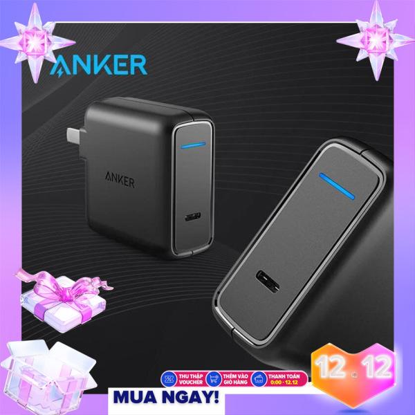 Cốc Sạc Nhanh ANKER PowerPort Speed 1 cổng USB-C 30w Power Delivery - A2014 - Hàng Chính Hãng Cao Cấp Bảo Hành 6 Tháng
