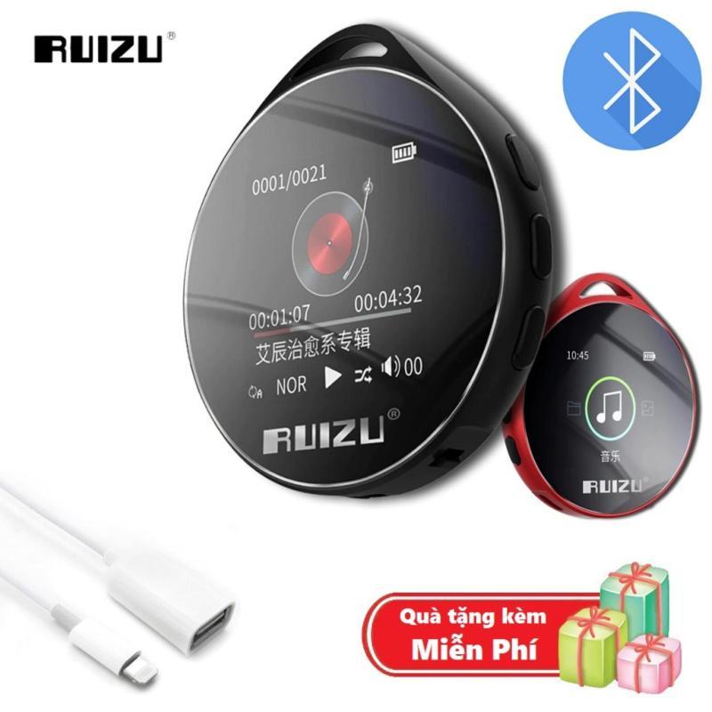 ( Quà tặng Cáp OTG cho iphone ) Máy nghe nhạc MP3 Bluetooth cao cấp Ruizu M10 - Hifi Music Player Ruizu M10 - Màn hình cảm ứng 1.8inch - Máy nghe nhạc Lossless Ruizu M10