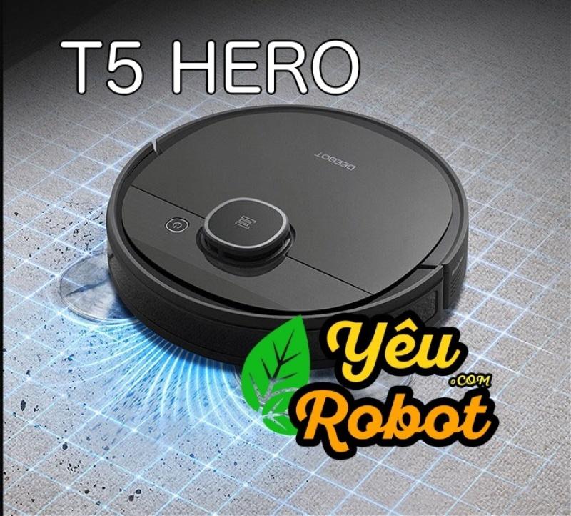 Robot Hút Bụi Lau Nhà Ecovacs T5 HERO Hàng Mới 100%