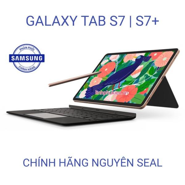 Máy tính bảng Samsung Galaxy Tab S7 / Tab S7+ Tặng kèm bao da bàn phím [ CHÍNH HÃNG NGUYÊN SEAL ]