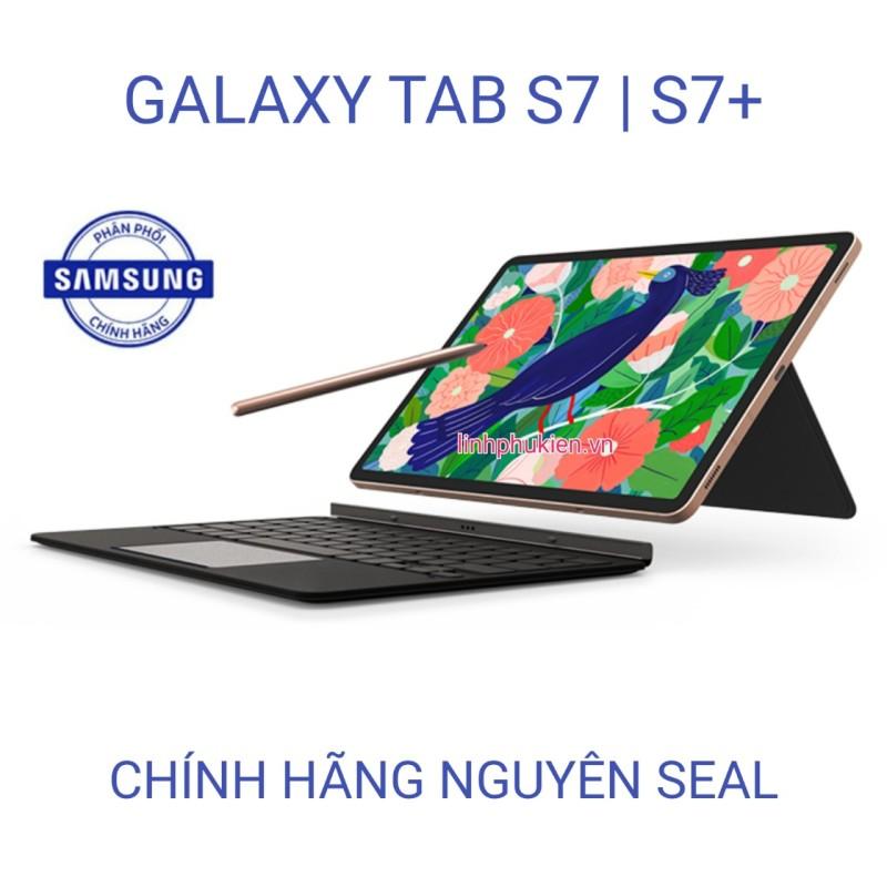 Máy tính bảng Samsung Galaxy Tab S7 / Tab S7+ Tặng kèm bao da bàn phím [ CHÍNH HÃNG NGUYÊN SEAL ] chính hãng