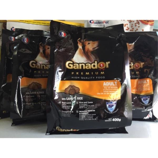 [HCM]Combo 5 gói thức ăn cho chó trưởng thành Ganador Adult 400g.