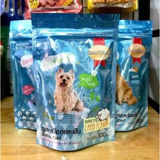 [HCM]Bánh thưởng cho chó giúp răng chắc khỏe Smartheart treat Dental Care 100g thumbnail