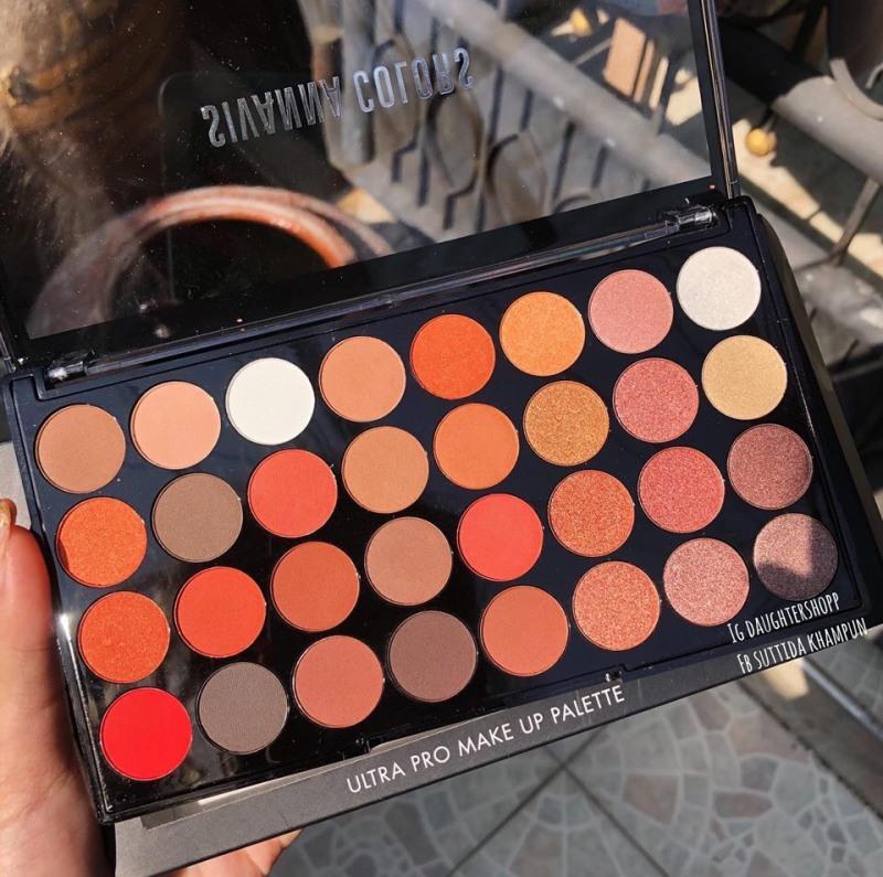 Phấn Mắt 32 Ô Sivanna Colors UlTra Pro Make Up Palette