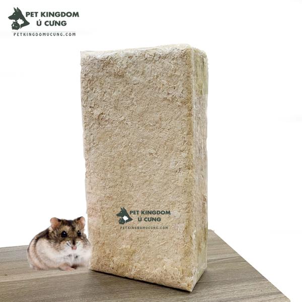 Mùn chưa lót chuồng cho hamster túi 1kg