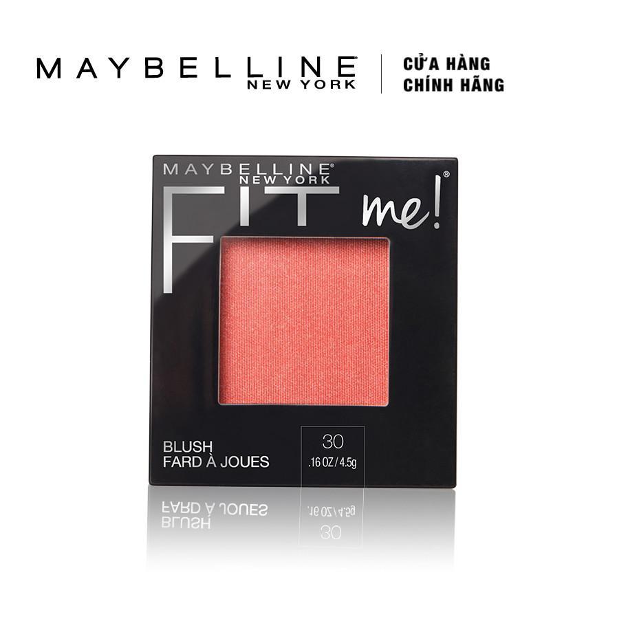 Phấn Má Maybelline Fit Me Blush - Rose 30 tốt nhất