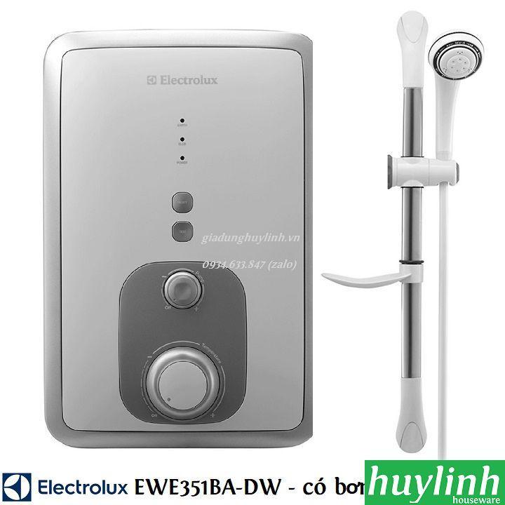 Bảng giá Máy nước nóng trực tiếp có bơm Electrolux EWE351BA-DW - 3500W