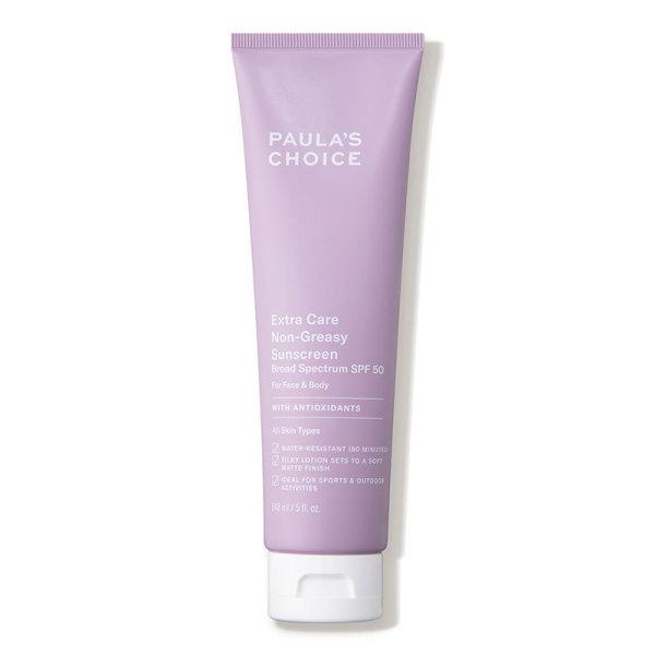 Kem chống nắng không nhờn Paulas Choice Extra Care Non-Greasy Sunscreen SPF 50 tốt nhất