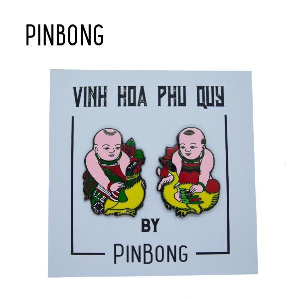 Huy Hiệu Vinh Hoa - Phú Quý PINBONG