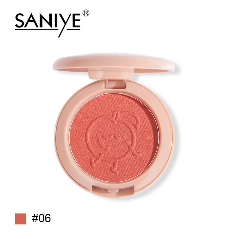 Phấn má SANIYE tông màu hồng có thành phần khoáng chất tự nhiên dành cho trang điểm E0150 - INTL nhập khẩu