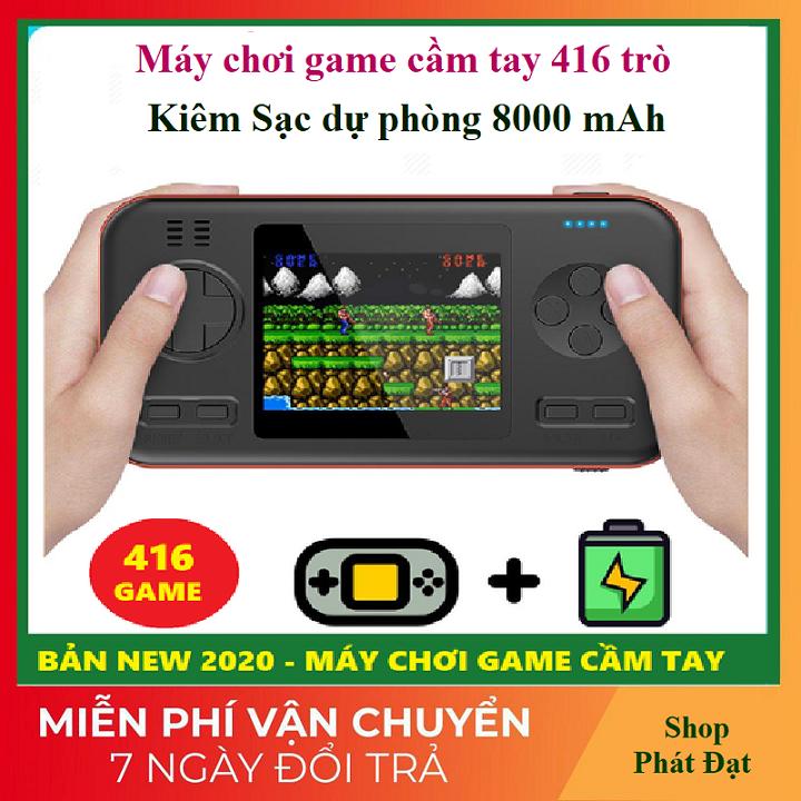 Máy chơi game 416 trò kiêm sạc dự phòng 8000mah cao cấp hơn Máy chơi game sup,máy chơi game sup 400 in 1,máy chơi game sup 2 người chơi giá rẻ hơn supreme,sup plus cầm tay