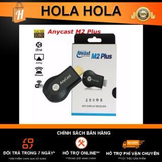 [Nhập ELJAN11 giảm 10%, tối đa 200k, đơn từ 99k]Thiết bị HDMI không dây Detek AnyCast M2 Plus Ram 128Mb xuất hình ảnh từ iPhone iPad ra tivi thumbnail