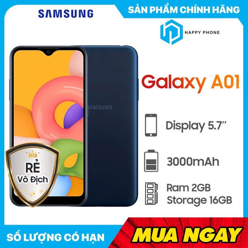 Điện Thoại Samsung Galaxy A01 ROM 16GB RAM 2GB - Hàng mới 100%, Nguyên seal, Bảo hành 12 tháng