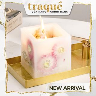 [Sẵn - 3 mùi] Nến thơm CITTA khối lập phương phong cách hoa khô ẩn bên trong - 3 hương sang trọng thumbnail