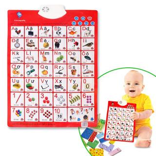 Bảng học chữ cái điện tử thông minh treo tường loại đẹp, Bảng chữ cái điện tử thông minh cho bé, bảng chữ điện tử thumbnail
