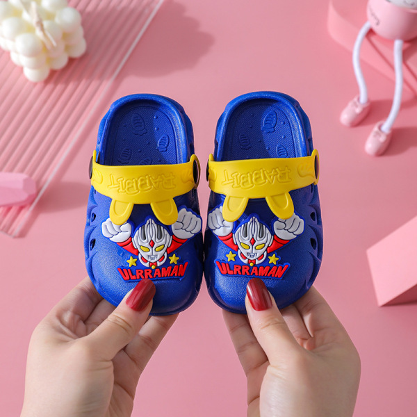 Giá bán [HCM]Giày sục tặng kèm sticker cho bé trai bé gái siêu cute quai sau tai thỏ