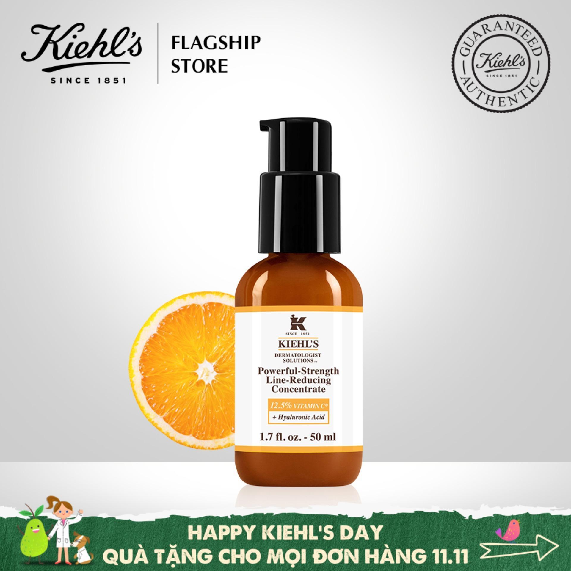 Serum Vitamin C Cải Tiến Kiehls Powerful-Strength Line-Reducing Concentrate 50ML nhập khẩu