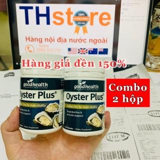 Bill, hàng Air, Combo 2 hộp 60 viên Tinh chất hàu biển nội địa GoodHealth Oyster Plus chiết xuất từ thịt hàu sữa tăng cường sinh lực phái mạnh thumbnail