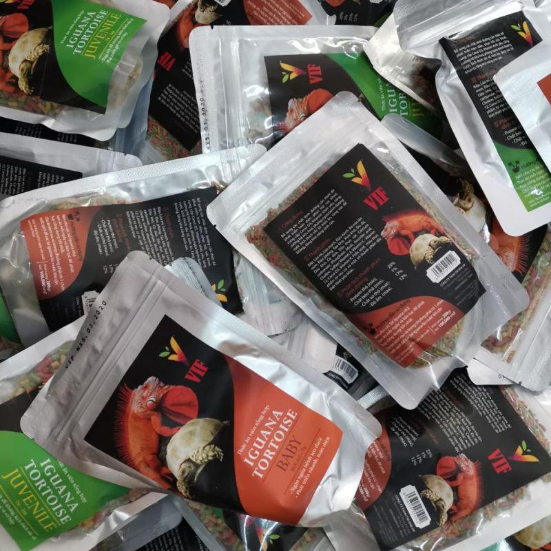 Vif - Thức ăn tổng hợp cho rùa cạn và iguana 200gr