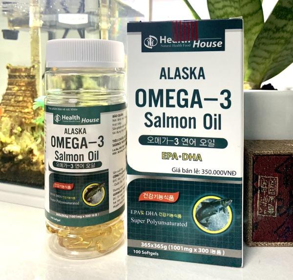 Alaska Omega 3 Bổ Não, Tăng Cường Thị Lực, Giảm Nguy Cơ Mắc Bệnh Tim Mạch giá rẻ