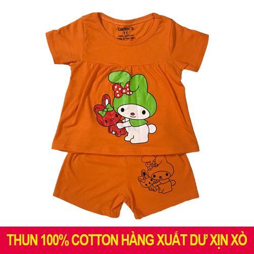 (Ảnh Thật Shop Chụp) Bộ đồ Ngắn Tay Bé Gái Chất Liệu 100% Cotton 4 Chiều ( Có Quần Và áo) Có Giá Rất Cạnh Tranh