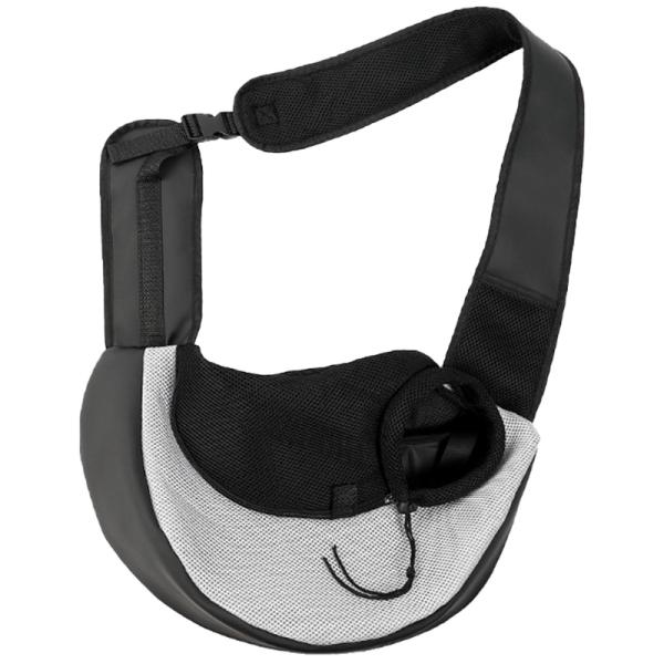 Pet Backpack Cat and Dog Shoulder Backpack Pet Travel Portable Oblique Cross Bag Breathable Mesh Pet Bag