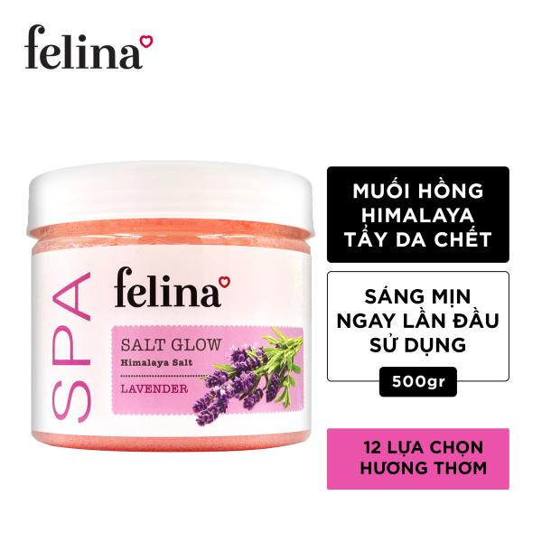 Tẩy tế bào chết Felina 500g  - Muối hồng Himalaya